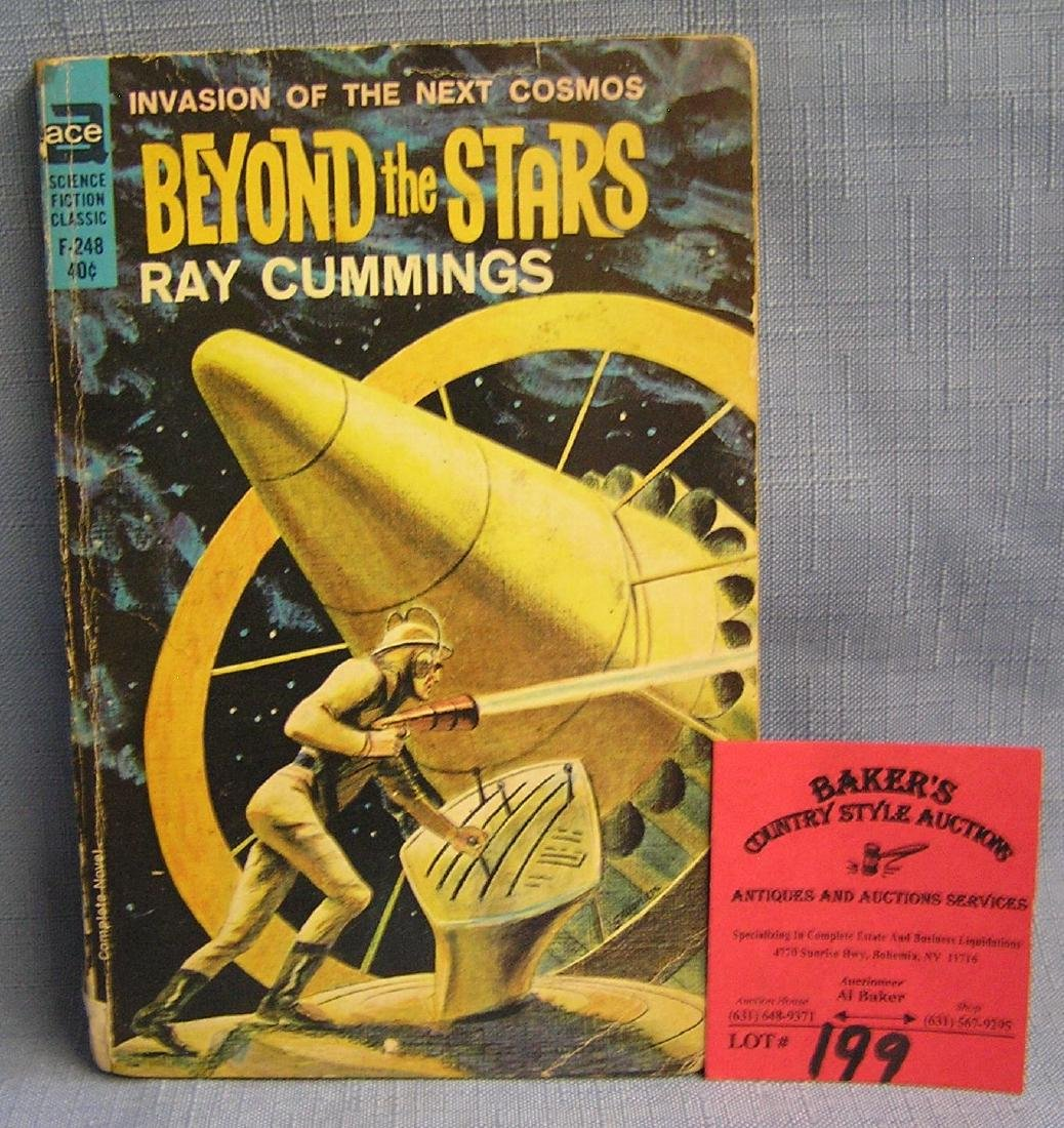 Vintage beyond the stars science fiction book