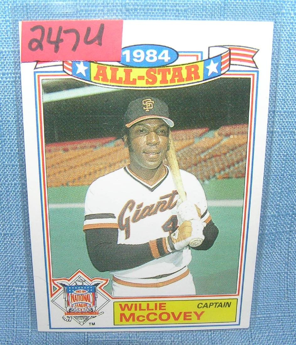 Willie McCovey Baseball card