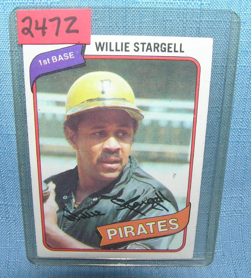 Wilie Stargell Baseball card