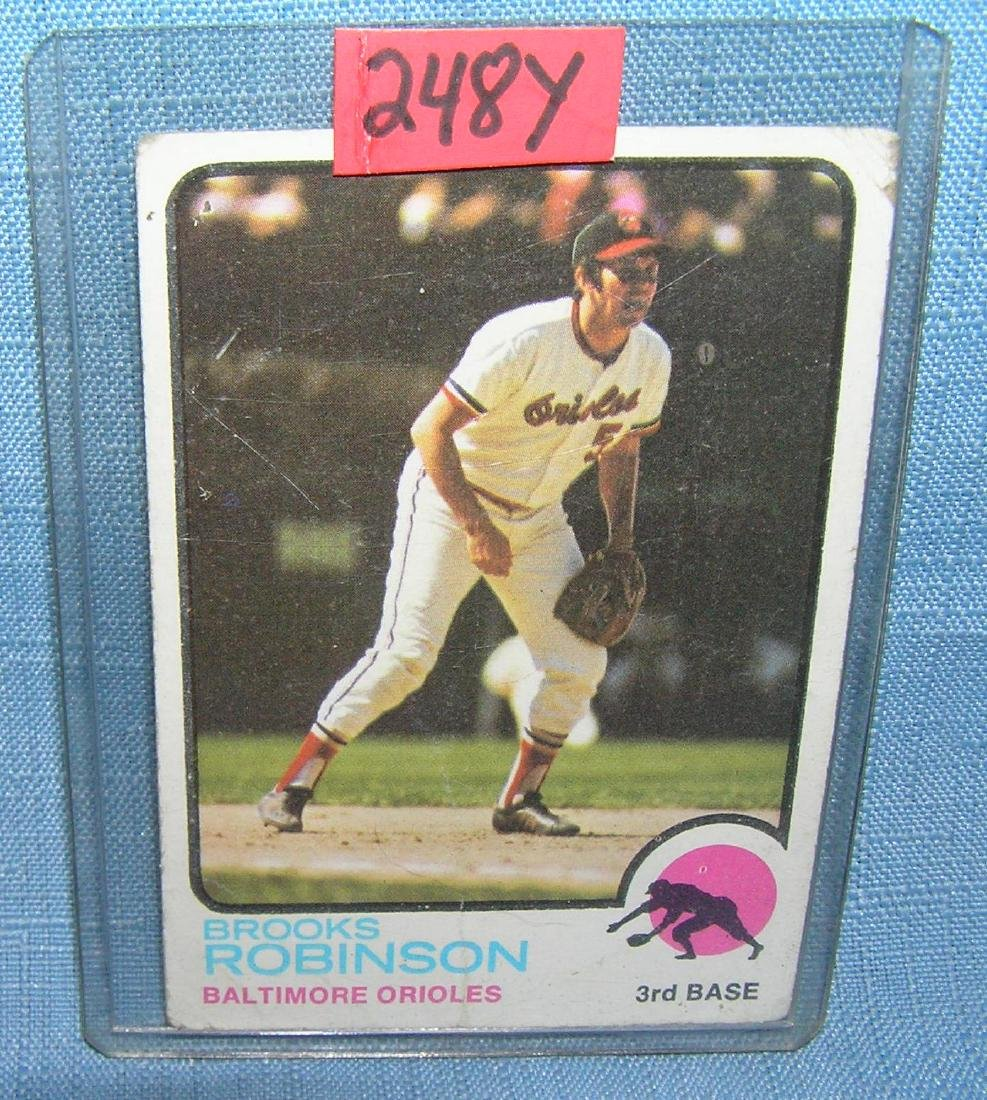 Brooks Robinson all star baseball card