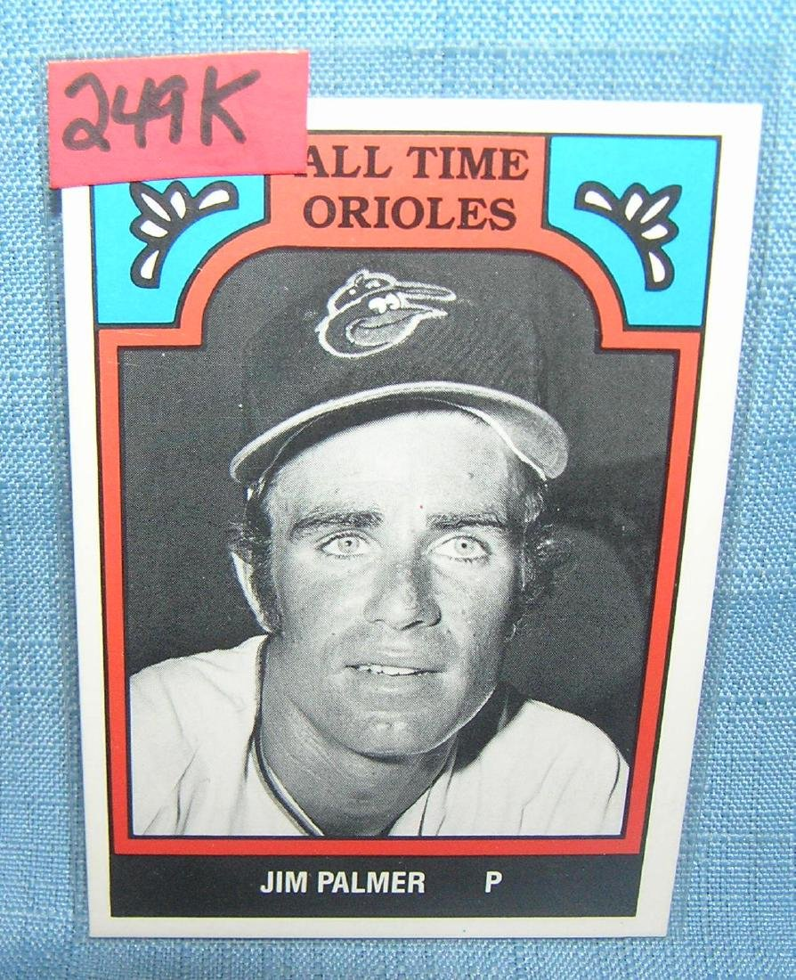 Jim Palmer all star baseball card