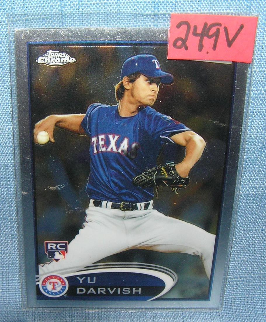 Yu Darvish all star baseball card