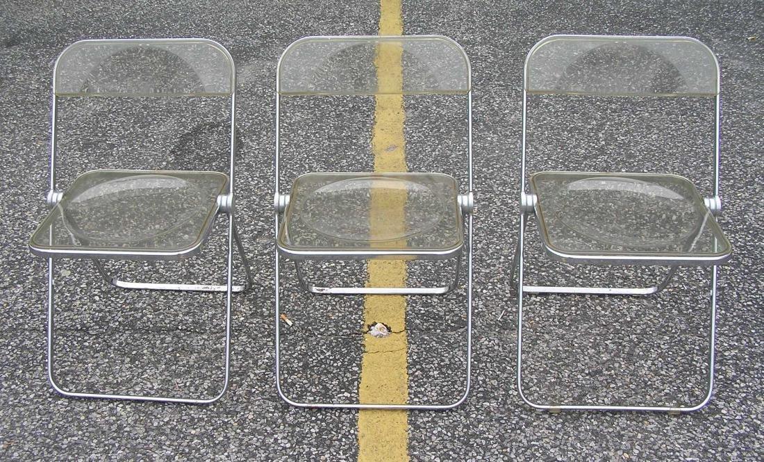 Anonima Castelli Midcentury modern folding chair set