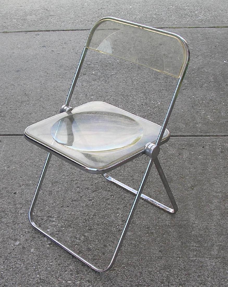 Anonima Castelli Midcentury modern folding chair set - 3