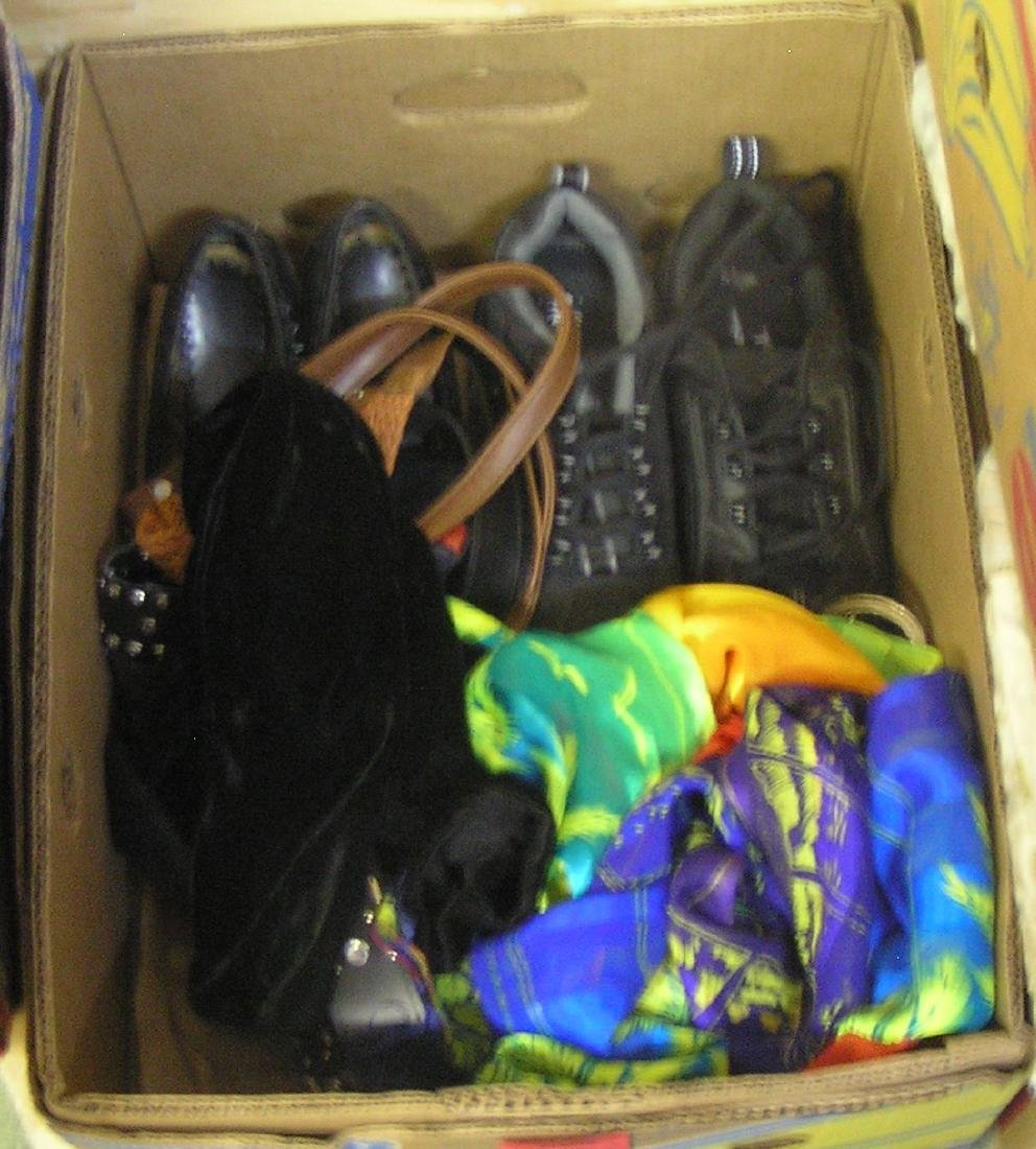 Box of modern accessories