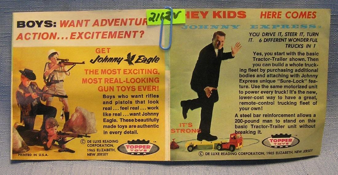 Vintage Johnny Express colored catalog