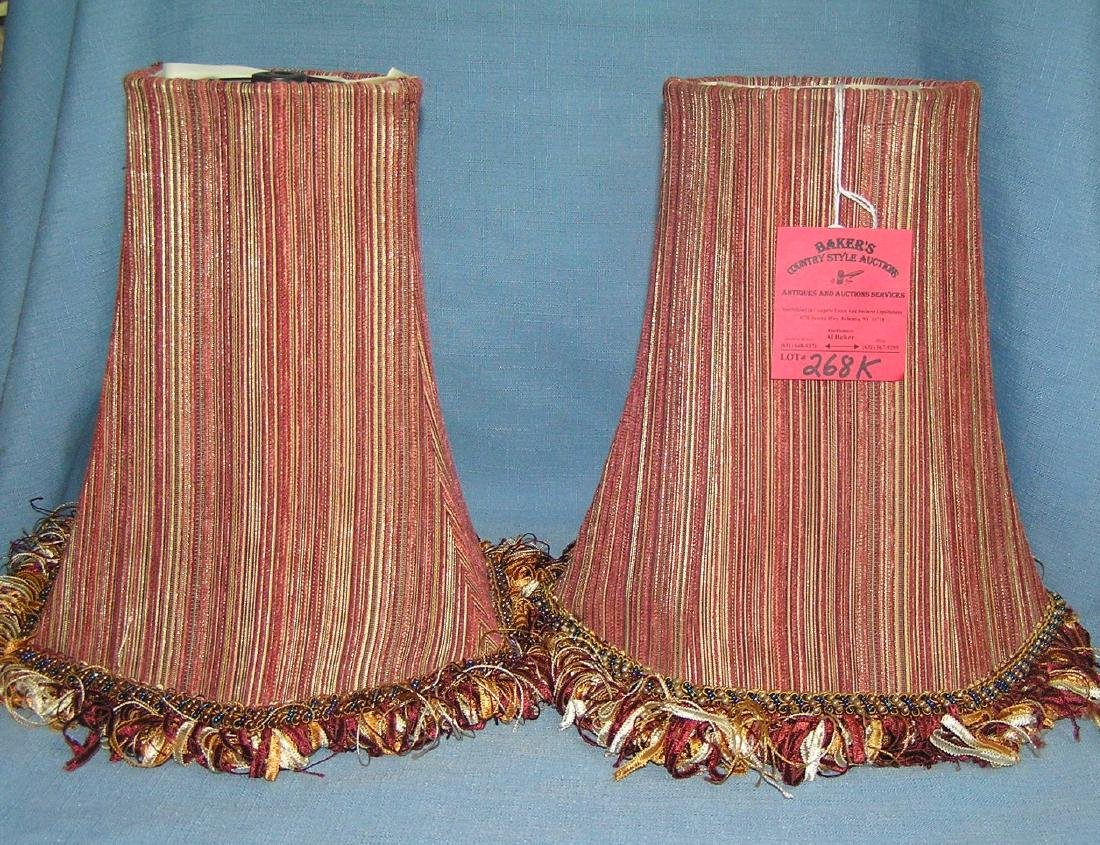 Pair of quality lamp shades