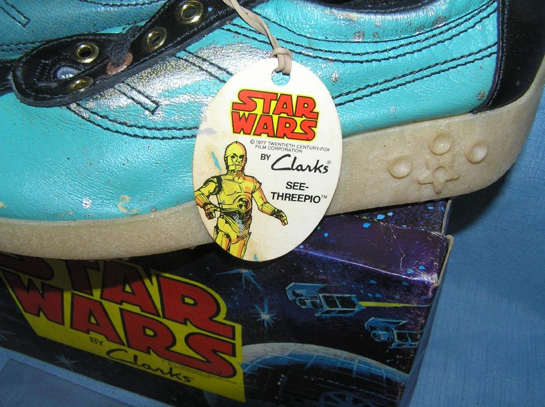 Extremely rare Star Wars sneakers dated 1977 - 9