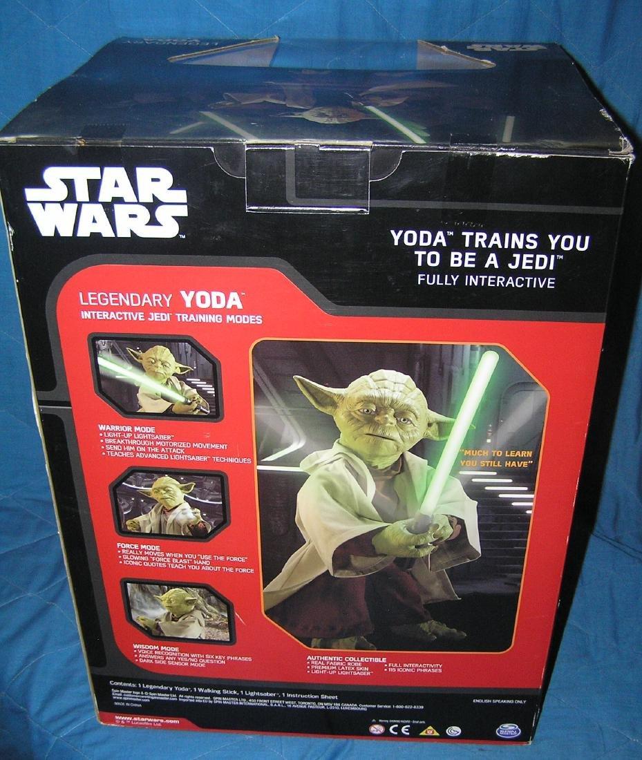 Star Wars oversized Yoda action figure - 4