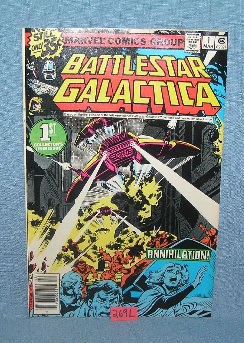 Battle Star Galactica comic book 1st edition 1979