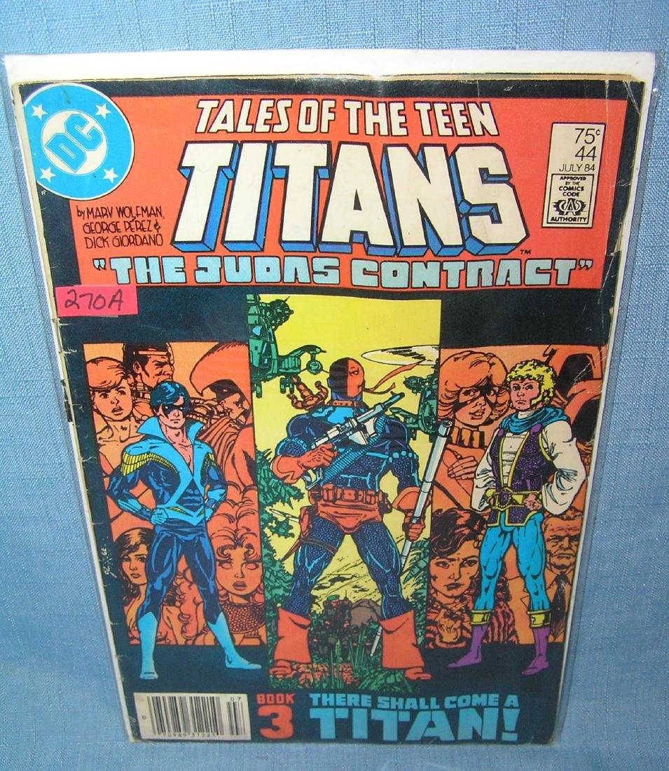 Tales of New Teen Titans the Judas Contract #44