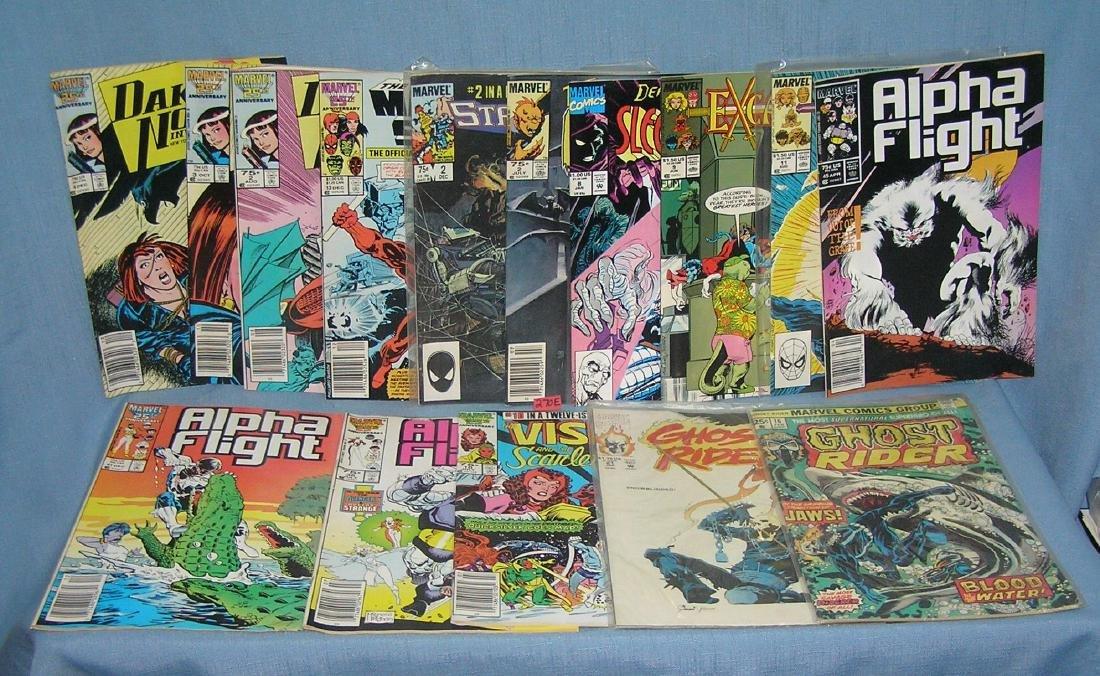 Group of 15 vintage Marvel comic books
