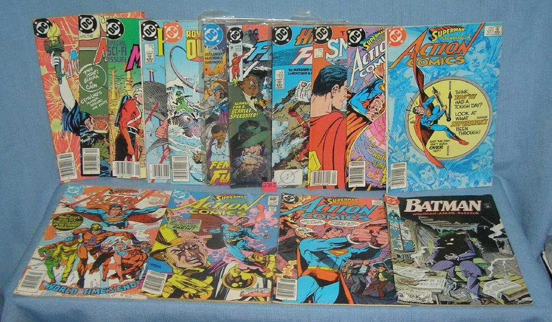 Group of 15 vintage DC comic books