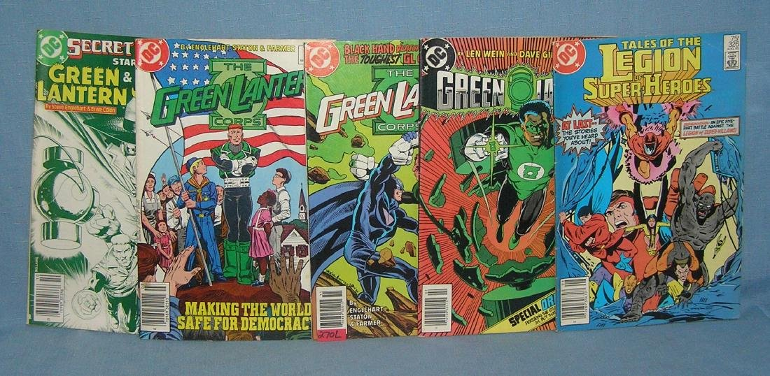 Group of 5 vintage DC comic books