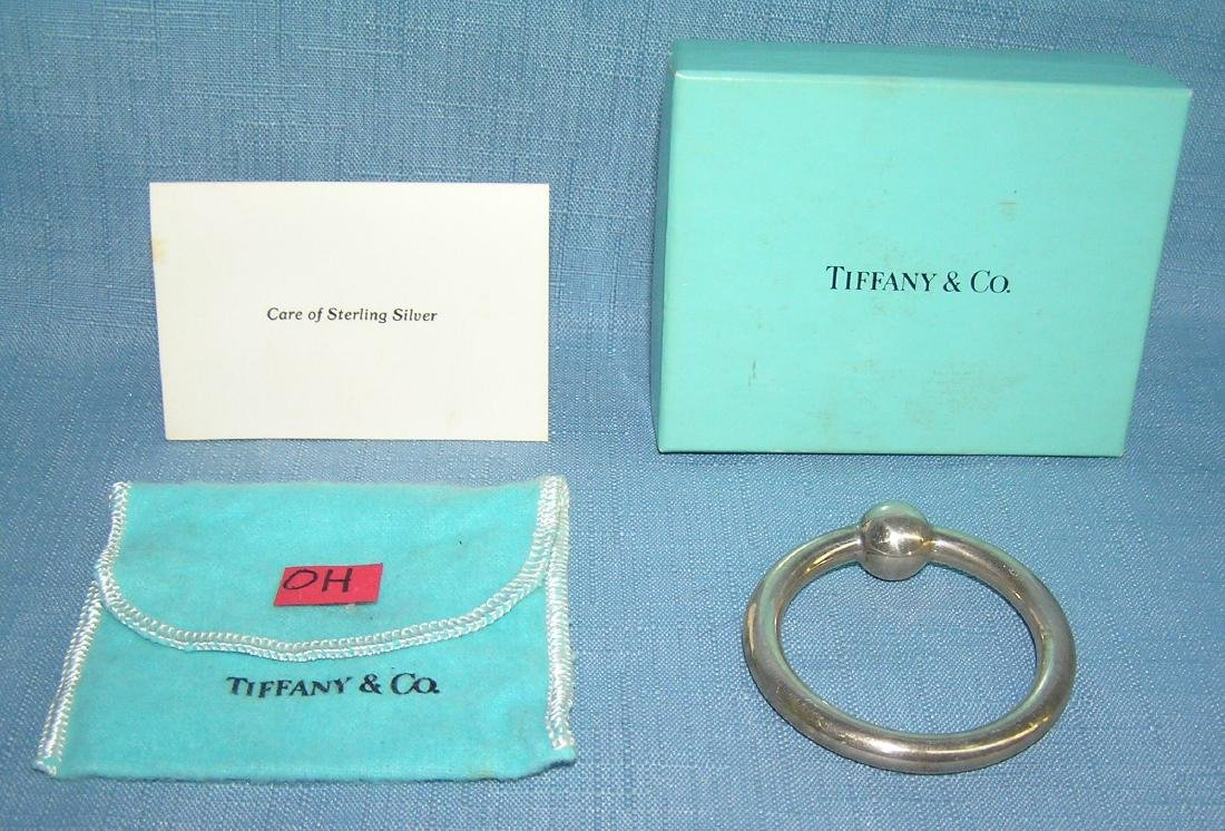 High quality Tiffany and Co. sterling silver rattle