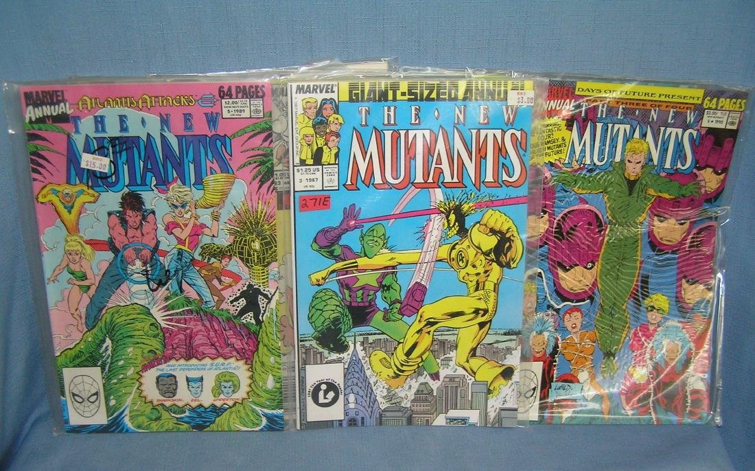 Collection of vintage Marvel comic books