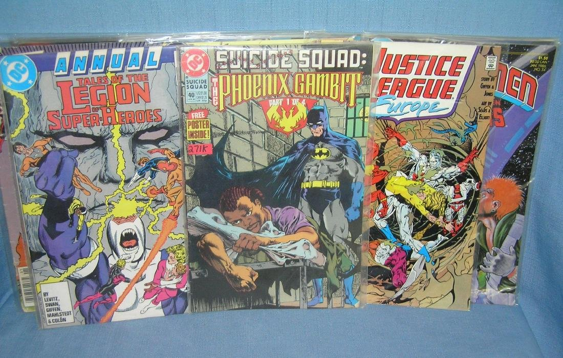 Collection of vintage DC comic books