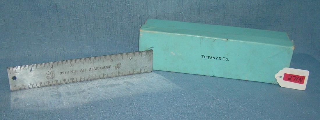 Tiffany silver NY Islanders presentation ruler - 7