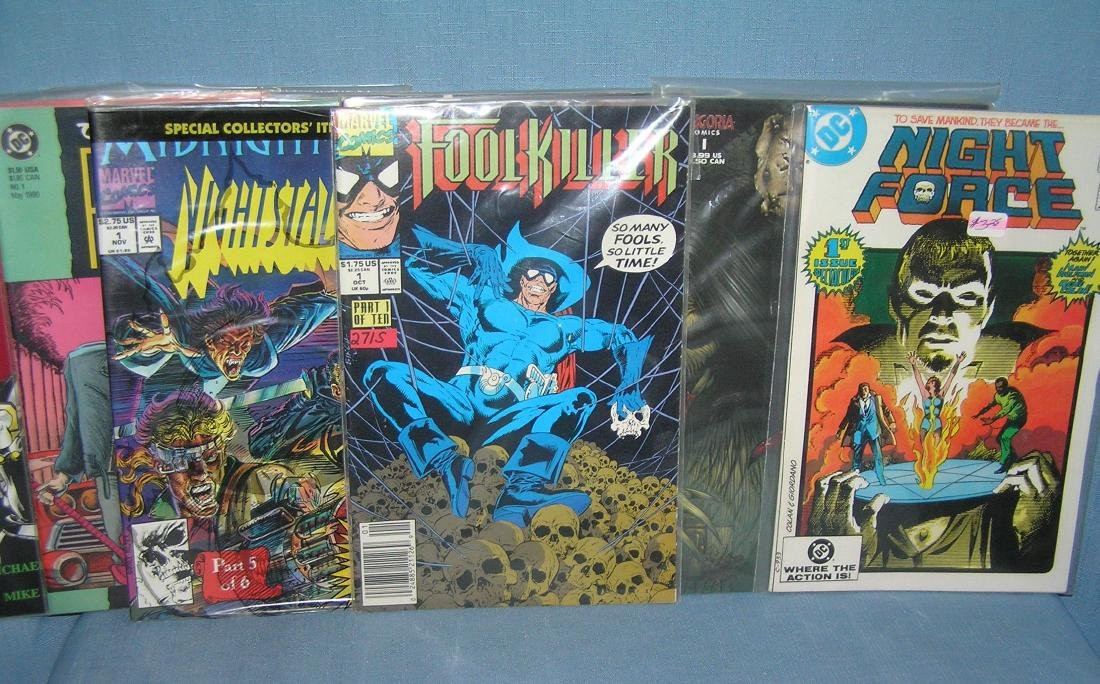 Collection of first edition comic books
