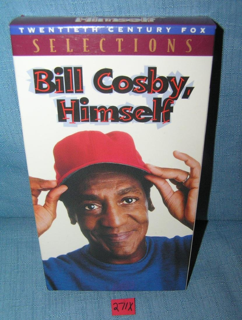 Vintage Bill Cosby Himself VHS tape