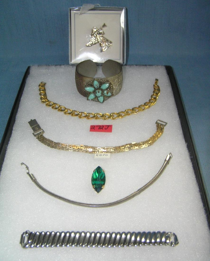 Costume jewelry bracelets and more includes Coro