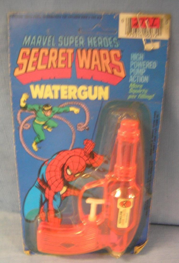 Marvel Superheros Secret Wars water gun