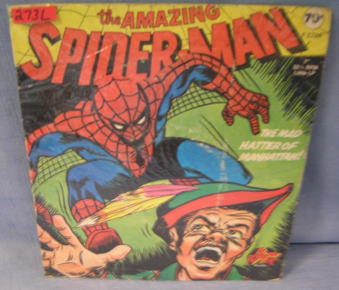 Spiderman and the Mad Hatter of Manhatten record