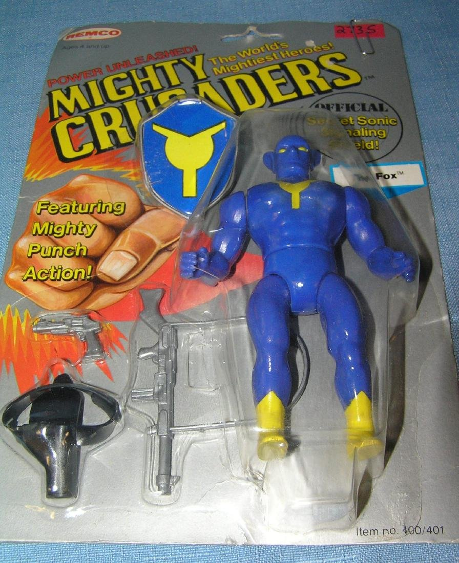 Vintage Mighty Crusaders The Fox action figure