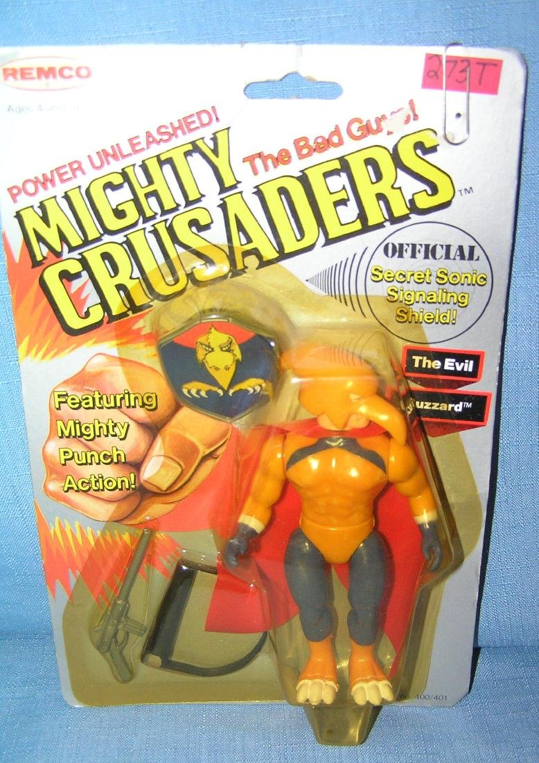 Vintage Mighty Crusaders The Evil Buzzard action figure