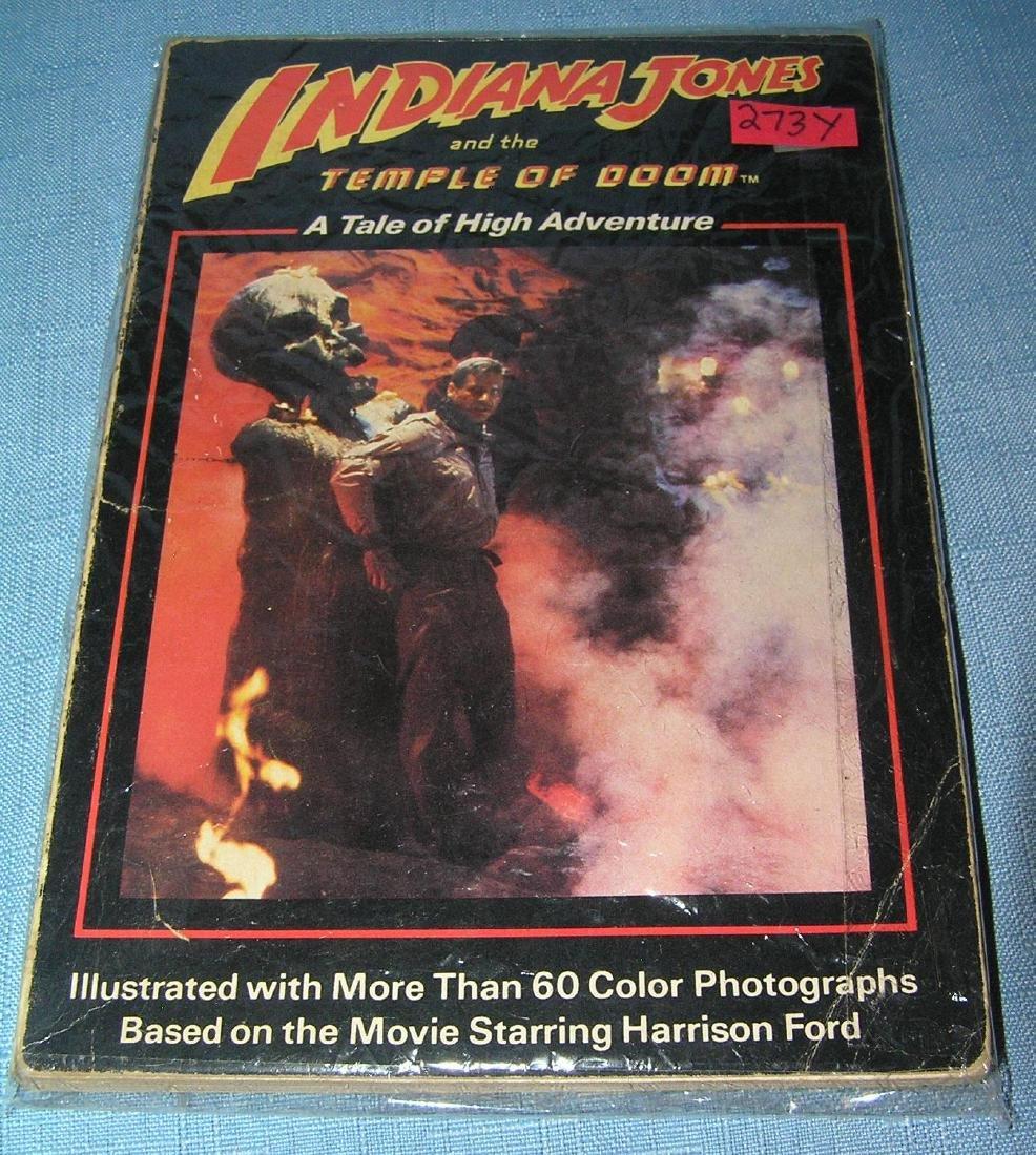 Vintage Indiana Jones Temple of Doom high adventure