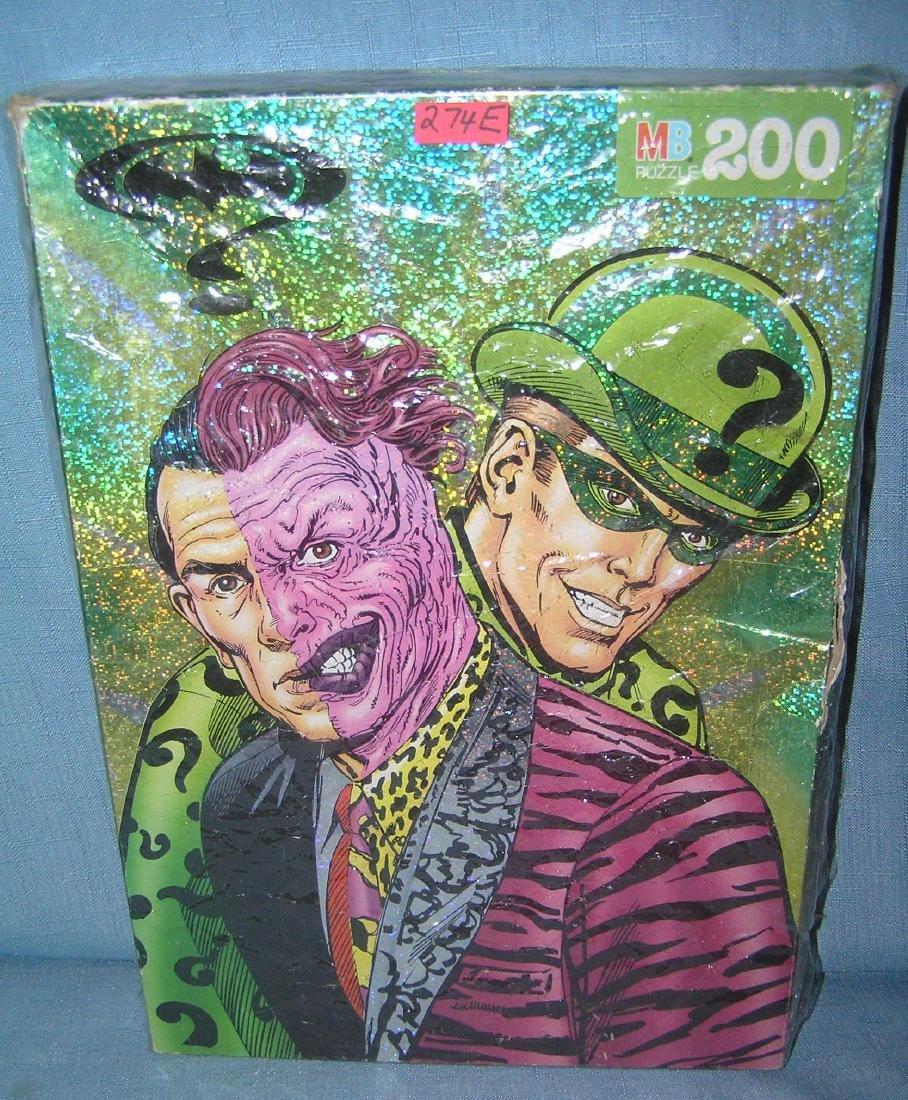 Batman's Riddler and Joker 200 piece puzzle