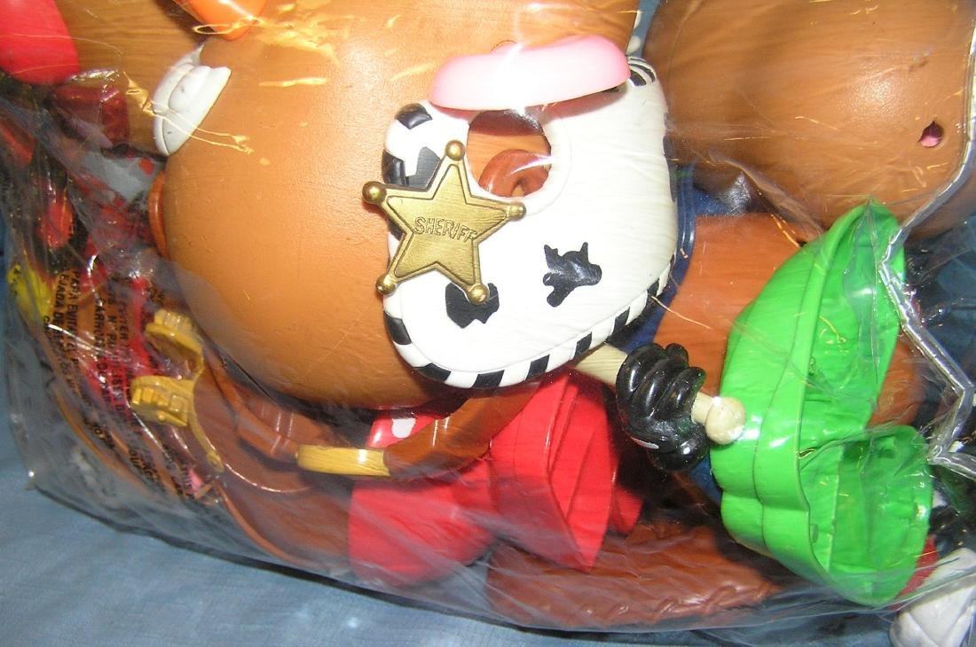 Large bag of Mr. Potato Head toys - 3