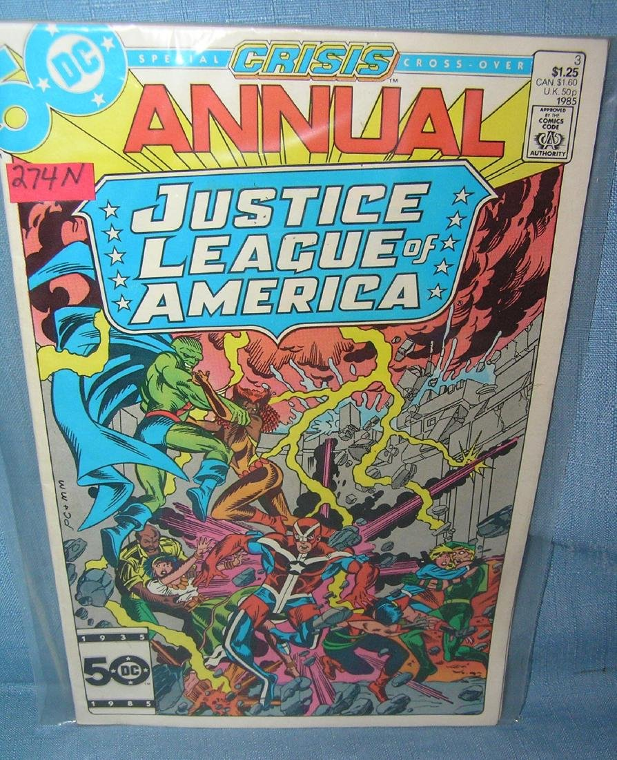 Vintage Justice League of America comic book