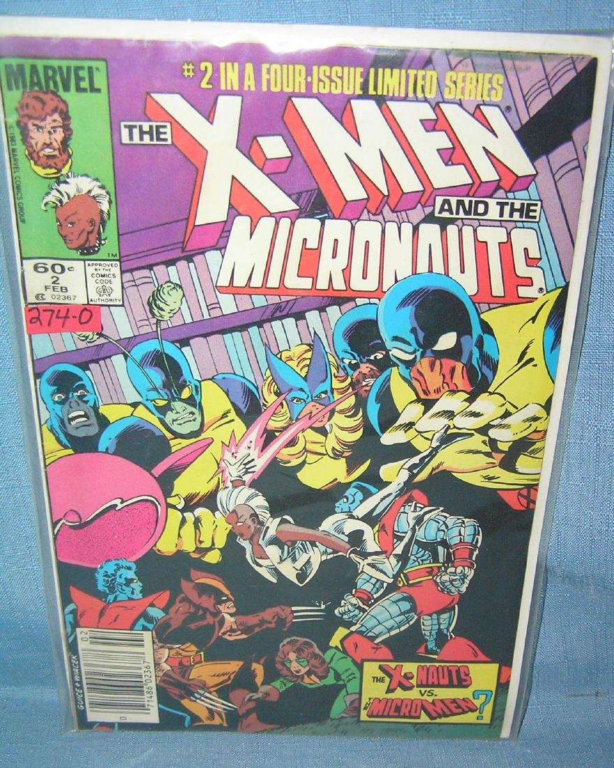 Xmen and the Micronaughts volumes 1 and 2