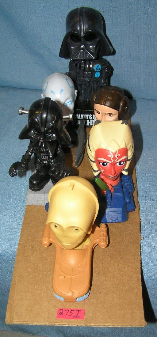 Group of vintage Star Wars toys and collectibles - 2