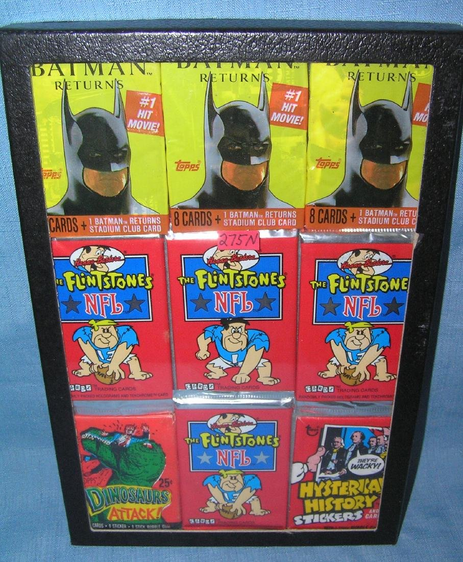 Group of vintage unopened non sports card packs