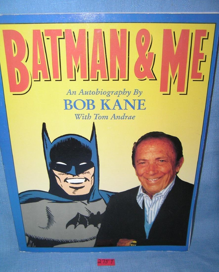 Vintage Batman and Me autobiography by Bob Kane