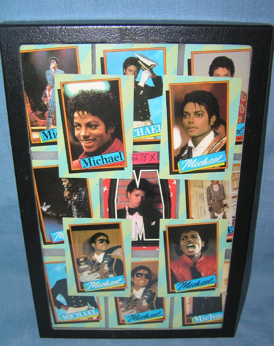 Group of vintage Michael Jackson nonsports cards