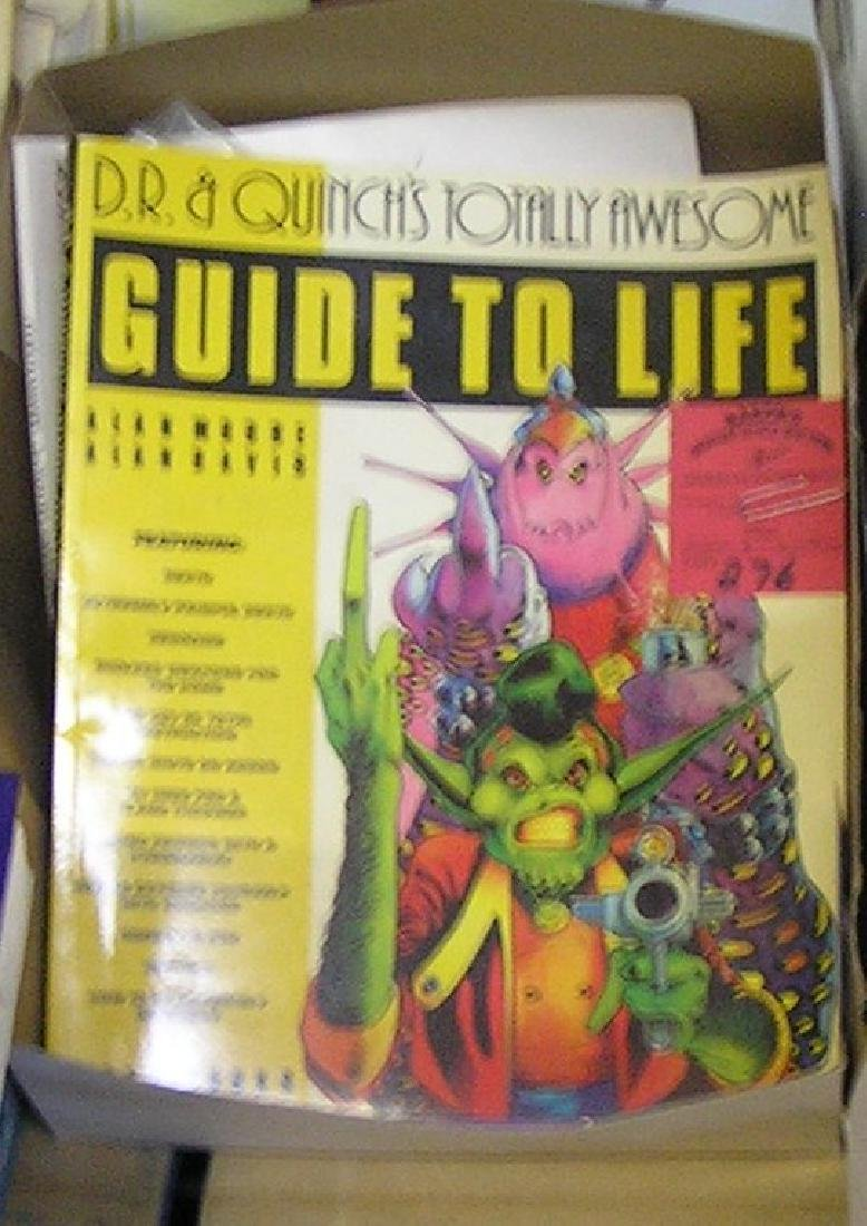 Collection of comic related magazines