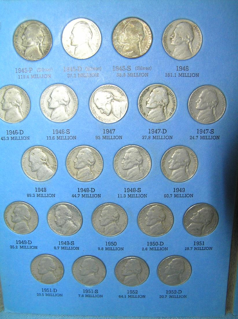 Jefferson nickel collection - 2