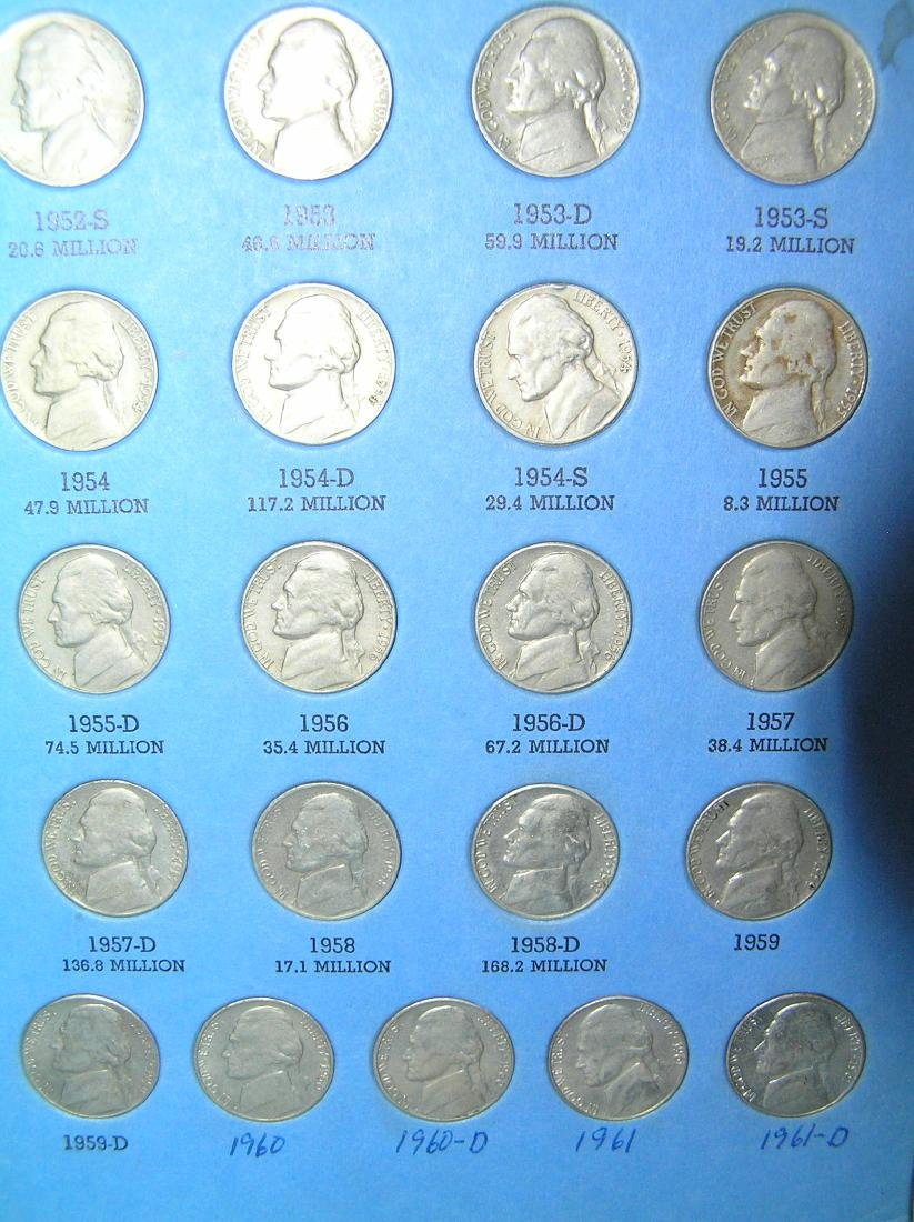 Jefferson nickel collection - 3