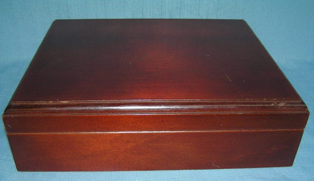 Mahogany cigar humidor - 3
