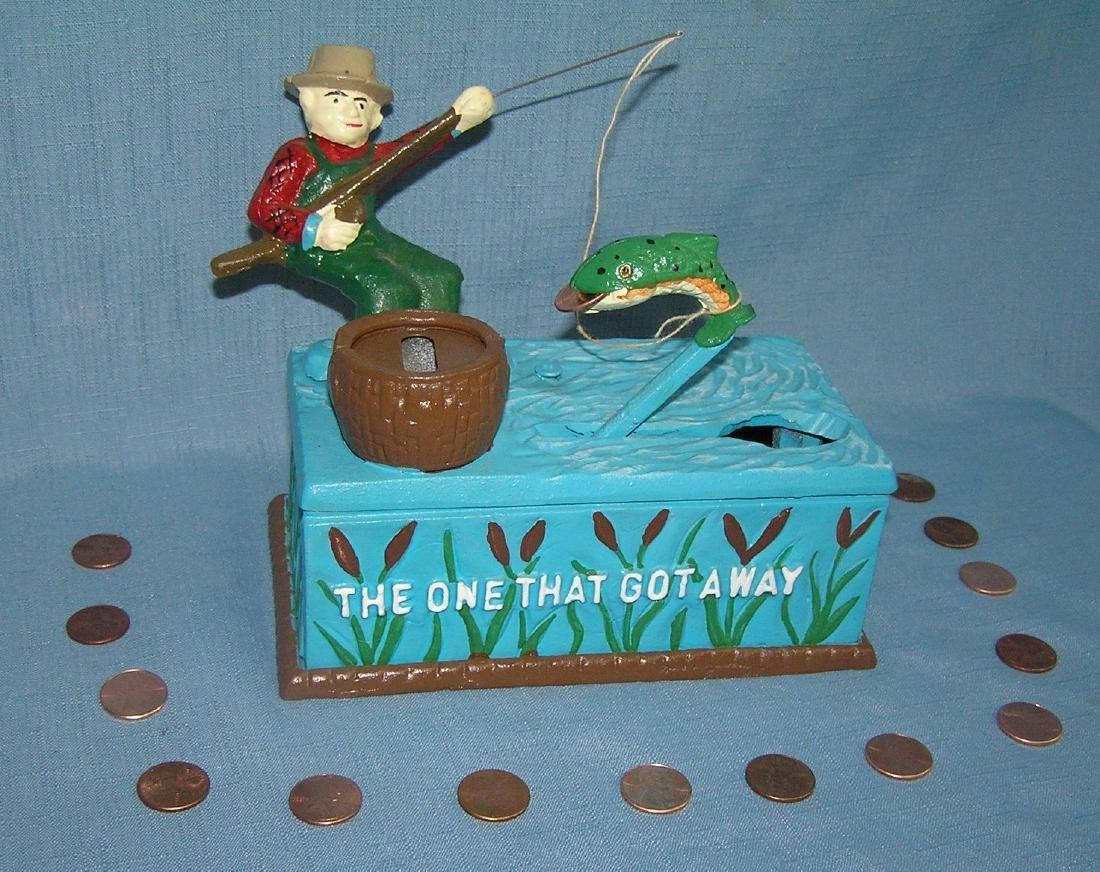 The One That Got Away fishing bank