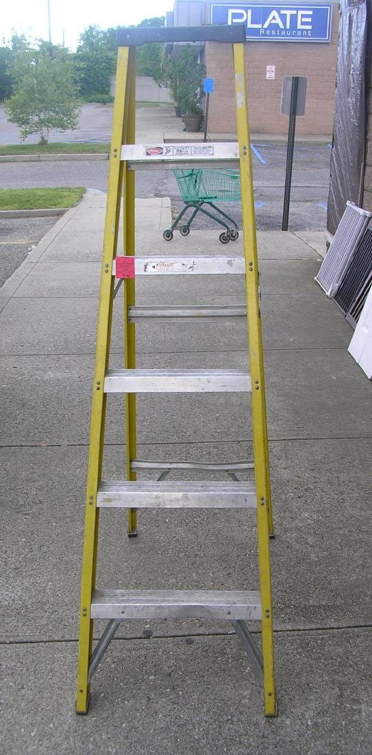 Contractor's step ladder 6 feet