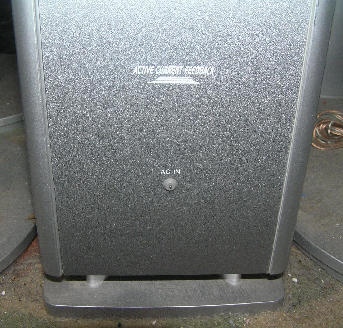 6 pc. Panasonic surround sound speaker system - 5
