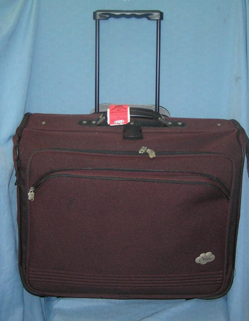 Quality Skyway wheeled and handled suit case