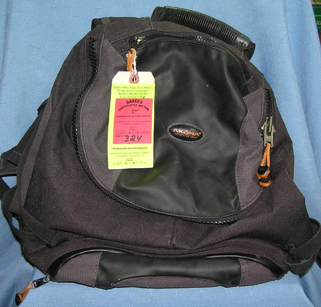 Akona brand backpack
