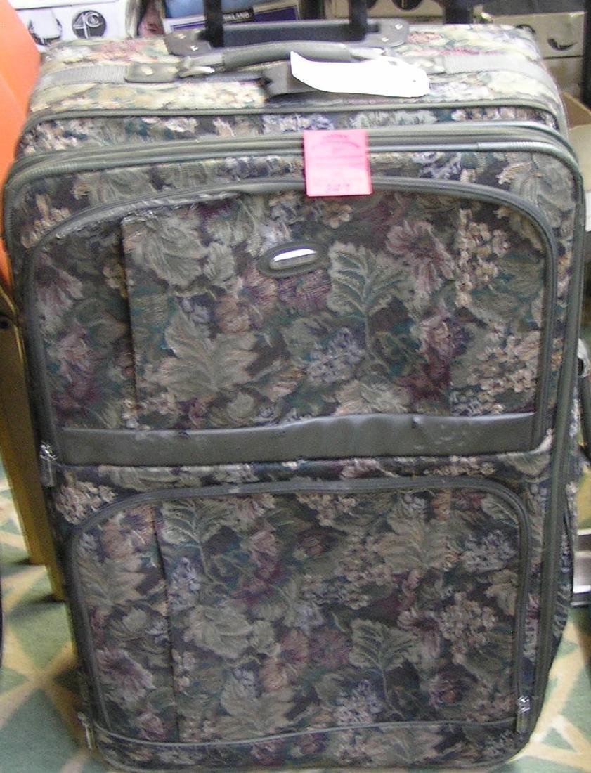 Protocol brand travel suitcase
