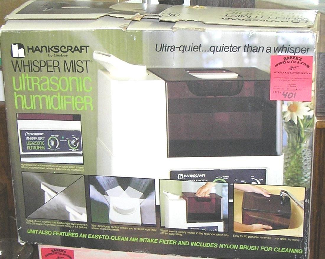 Vintage Whisper Mist ultrasonic humidifier