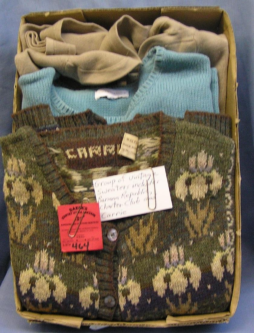 Vintage sweaters: Banana Republic and more